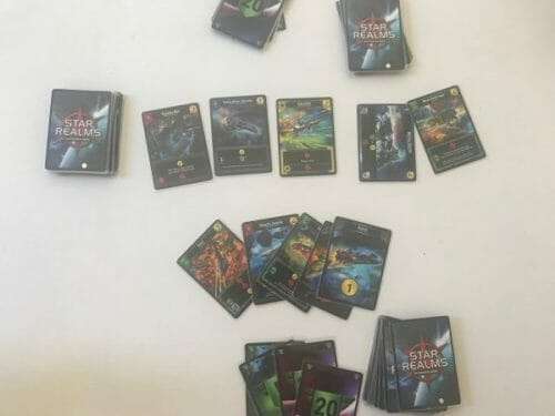 Star Realms Deck Building