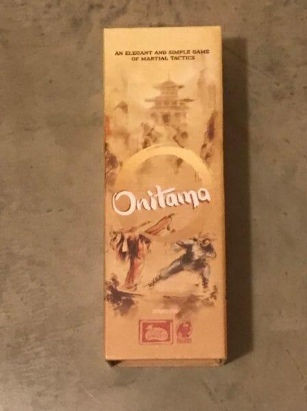 Onitama game box