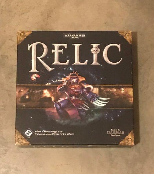Relic game box