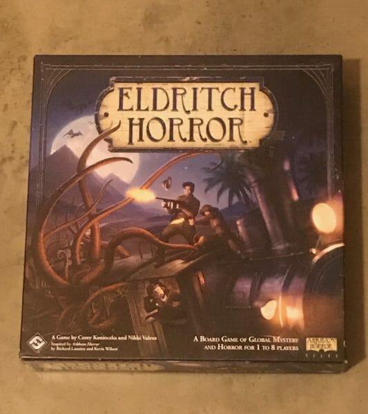 Eldritch Horror game box