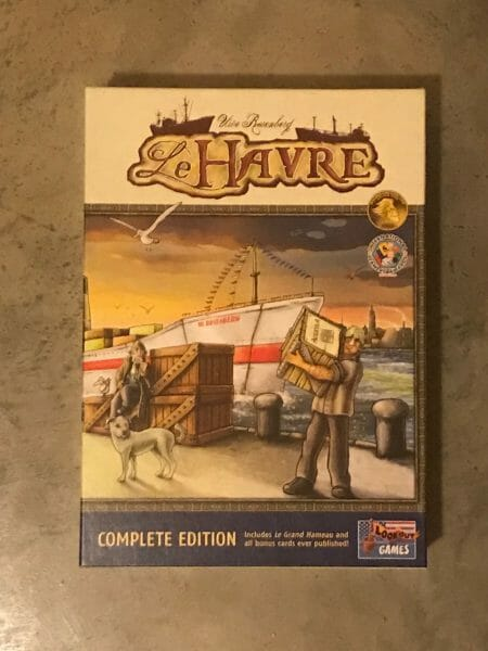 Le Havre game box