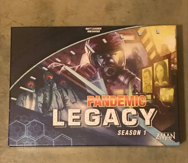 Pandemic Legacy game box
