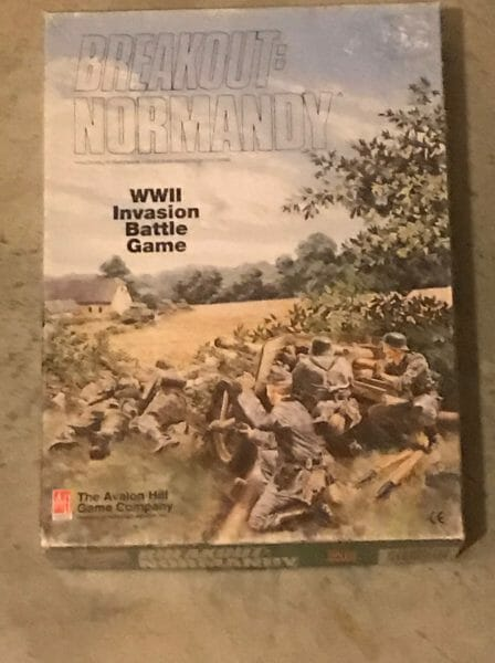 Breakout: Normandy game box